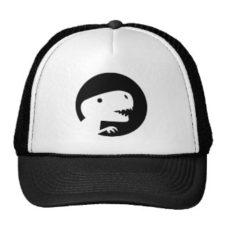 Dinosaur T-Rex moon Trucker Hat