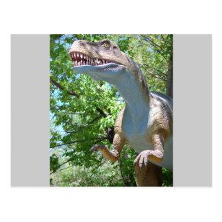 Dinosaur T-Rex Postcard