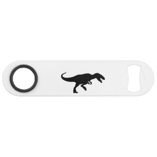 Dinosaur T-Rex Tyrannosaurus Rex Black Silhouette Bar Key
