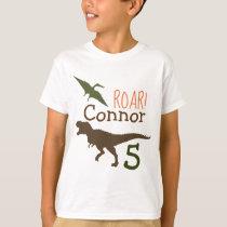Dinosaur T-shirt, Birthday Tshirt