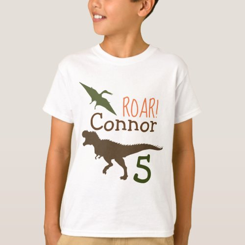 Dinosaur T_shirt Birthday Tshirt