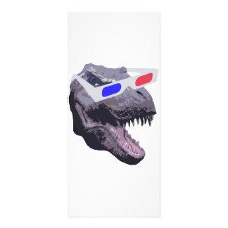 Dinosaur t-shirts rack card