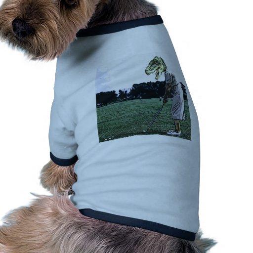 dinosaur tee Time Pet Clothing