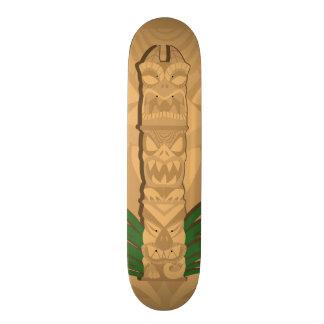 Dinosaur Tiki Totem Skateboard Deck
