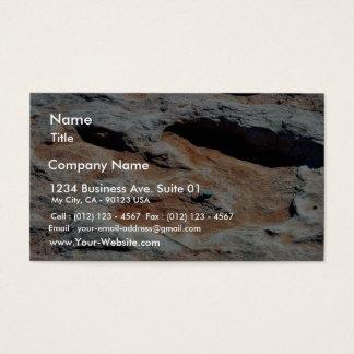 Dinosaur Tracks North Of Flagstaff Business Card