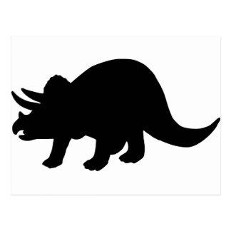 Dinosaur - Triceratops Postcards