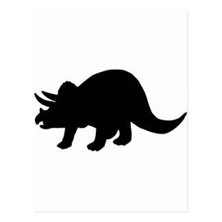 Dinosaur - Triceratops Post Card