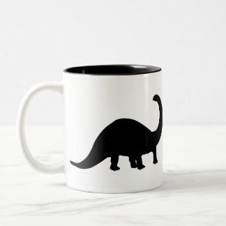 Dinosaur Two-Tone Coffee Mug