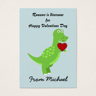 Dinosaur Valentines Day Cards to hand out for Kids