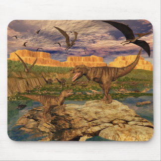 Dinosaur valley mousepad