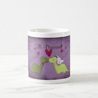 Dinosaur Wedding Mug(The Dinosaur) Coffee Mug
