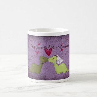 Dinosaur Wedding Mug( The Lovely Other Dinosaur) Coffee Mug