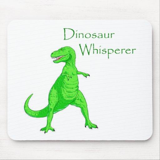 Dinosaur Whisperer Mouse Pads