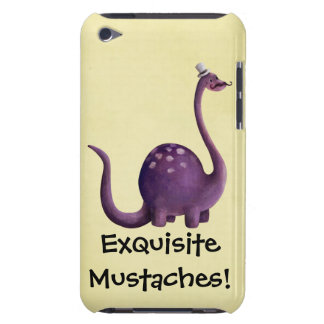 Dinosaur with Mustaches Barely There iPod Cases