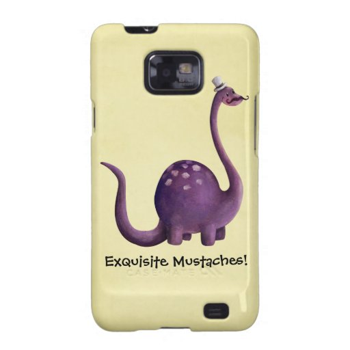 Dinosaur with Mustaches Galaxy SII Cover