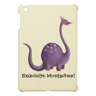 Dinosaur with Mustaches Cover For The iPad Mini