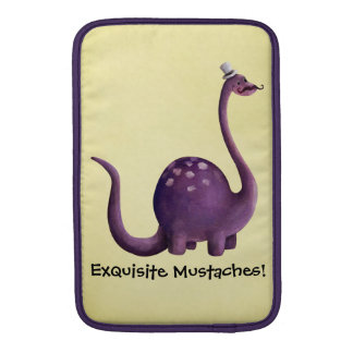 Dinosaur with Mustaches Sleeve For MacBook Air