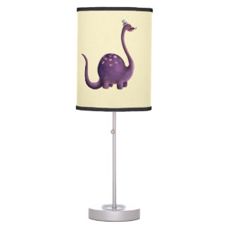 Dinosaur with Mustaches Table Lamp