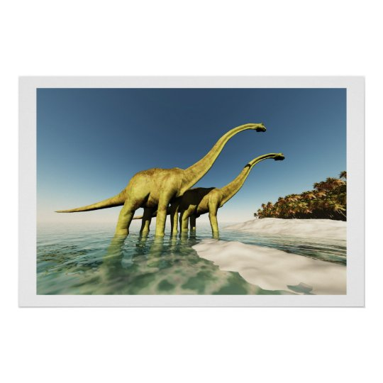 DINOSAUR WORLD PRINT