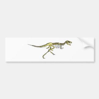 Dinosaurier Raptor Skelett dino skeleton Auto Sticker