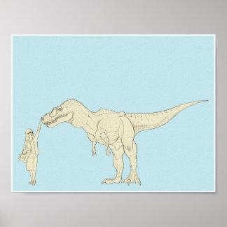 Dinosaurio 11x8.5 impresiones
