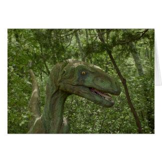 Dinosaurio 3736 tarjeta pequeña