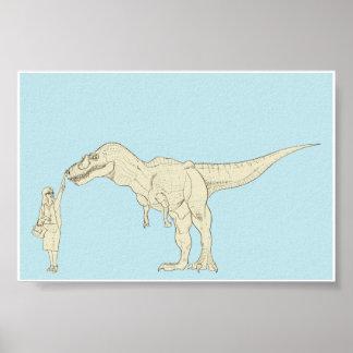 Dinosaurio 6x4 posters