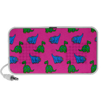 dinosaurio iPod altavoces
