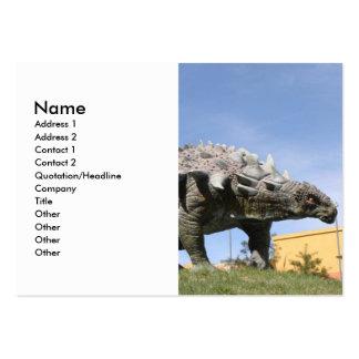 Dinosaurio - Ankylosaurus Tarjetas De Visita