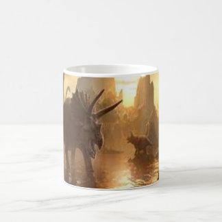 dinosaurio antiguo taza