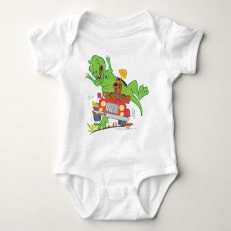 Dinosaurio Attack1 de Scooby Doo Mameluco De Bebé