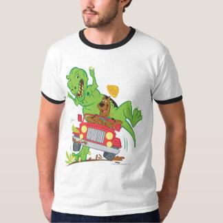 Dinosaurio Attack1 de Scooby Doo Playera