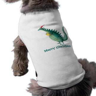 Dinosaurio - ayudante de Papá Noel Ropa Macota