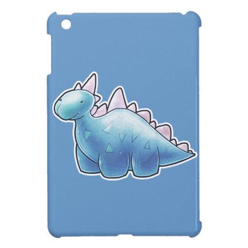 Dinosaurio azul claro del bebé
