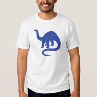 Dinosaurio - azul poleras