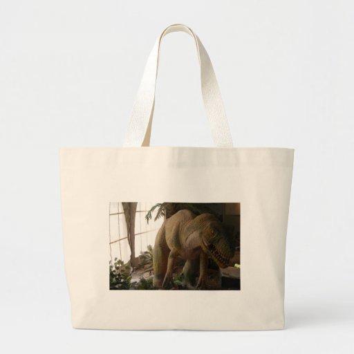 dinosaurio bolsa tela grande