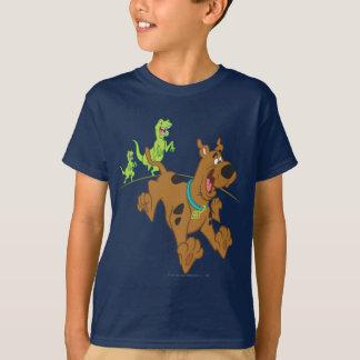 Dinosaurio Chasing2 de Scooby Doo Playera
