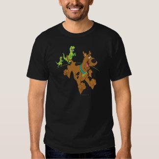 Dinosaurio Chasing2 de Scooby Doo Poleras