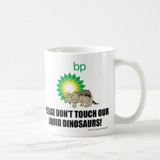 Dinosaurio de BP Tazas De Café