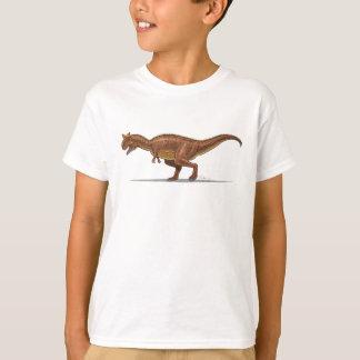 Dinosaurio de Carnotraurus de la camiseta de los