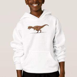 Dinosaurio de Carnotraurus de la sudadera con