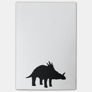 Dinosaurio de Dino del Styracosaurus Post-it Notas