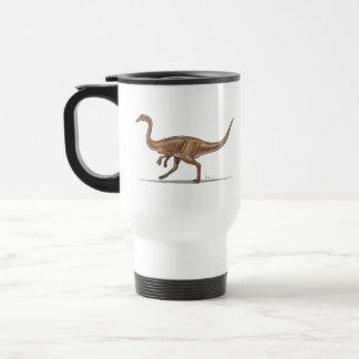 Dinosaurio de Gallimimus de la taza del viaje