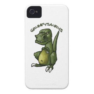¡Dinosaurio de Grumpysaurus que es gruñón! Case-Mate iPhone 4 Fundas