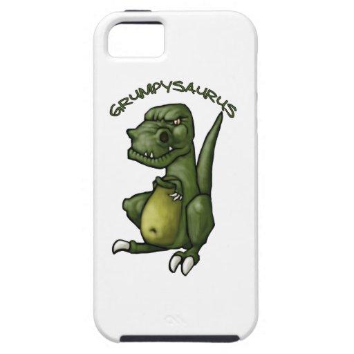 ¡Dinosaurio de Grumpysaurus que es gruñón! iPhone 5 Case-Mate Carcasa