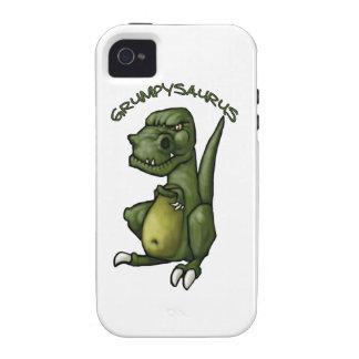 ¡Dinosaurio de Grumpysaurus que es gruñón! Vibe iPhone 4 Carcasas