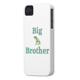 Dinosaurio de hermano mayor T-Rex iPhone 4 Case-Mate Protectores