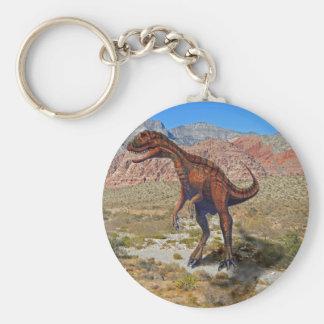 Dinosaurio de Herrersarus Llaveros