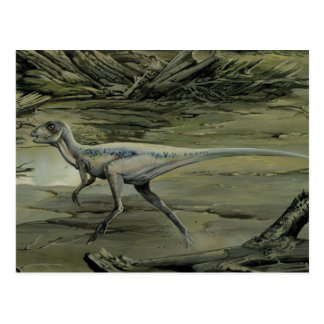 Dinosaurio de Hypsilophodon del vintage Postal