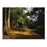 Dinosaurio de Iguanodon Postal
